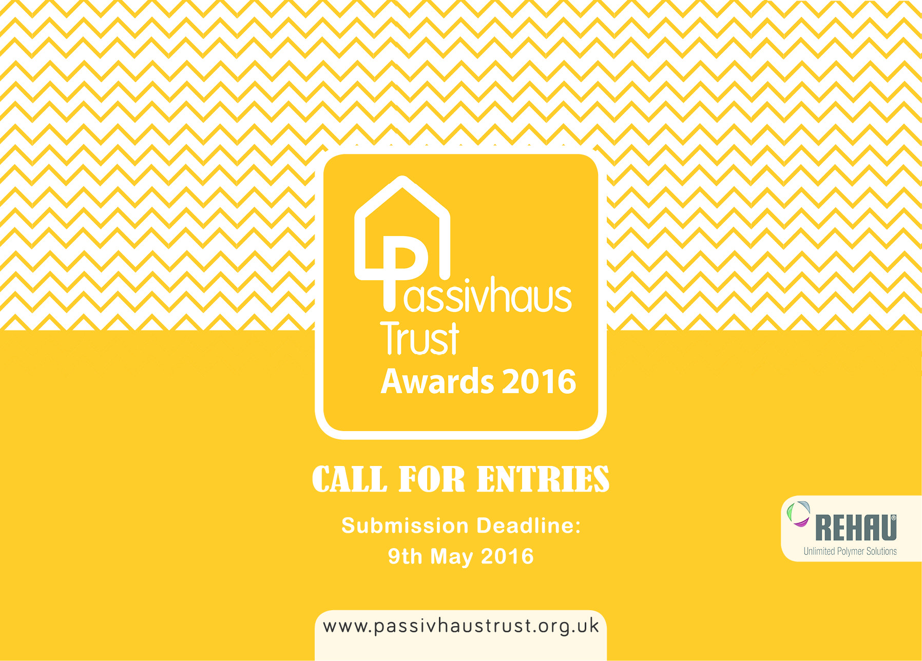 UK Passivhaus Awards 2016 Launch
