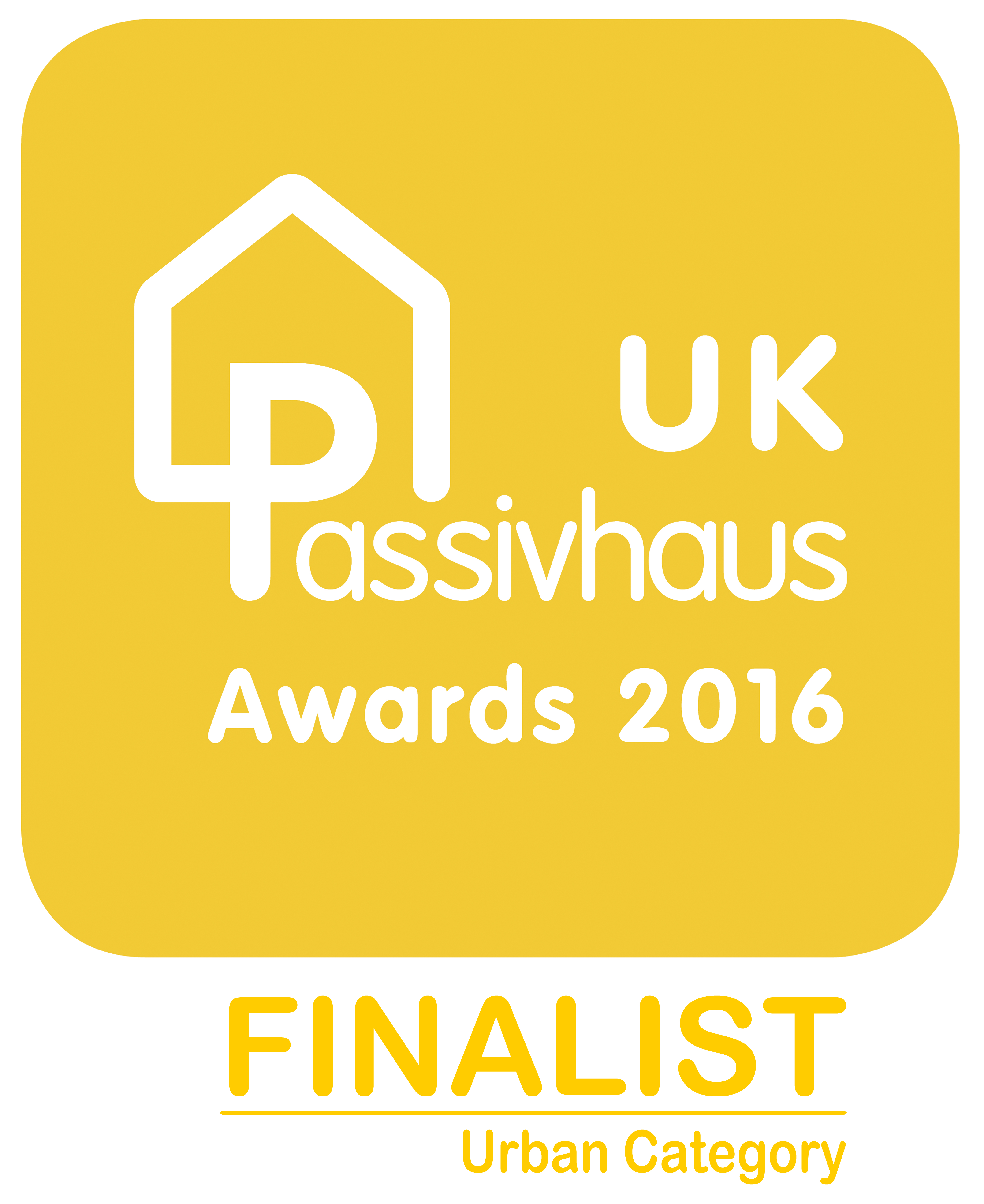 UK Passivhaus Awards 2016 Urban Finalist logo