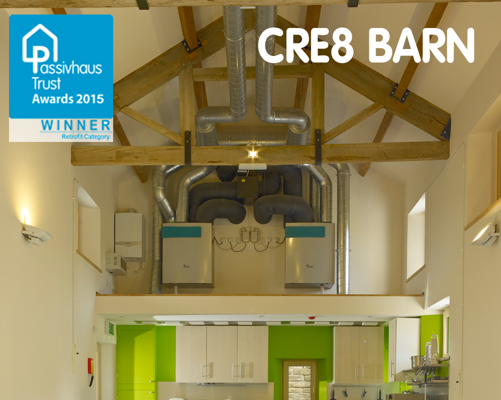 Cre8 Barn UK Passivhaus Open Days 2015