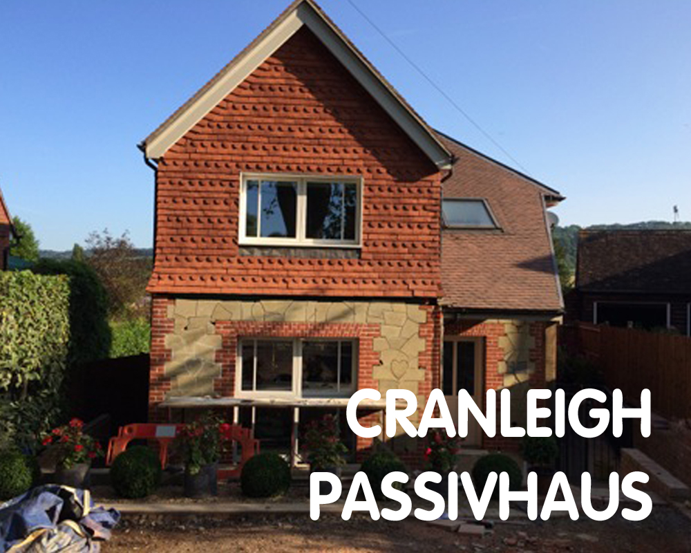 Cranleigh Passivhaus: UK Passivhaus Open Days 2015