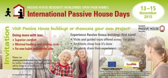 International Passivhaus Open Days