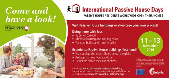 2016 International Passivhaus Open Days