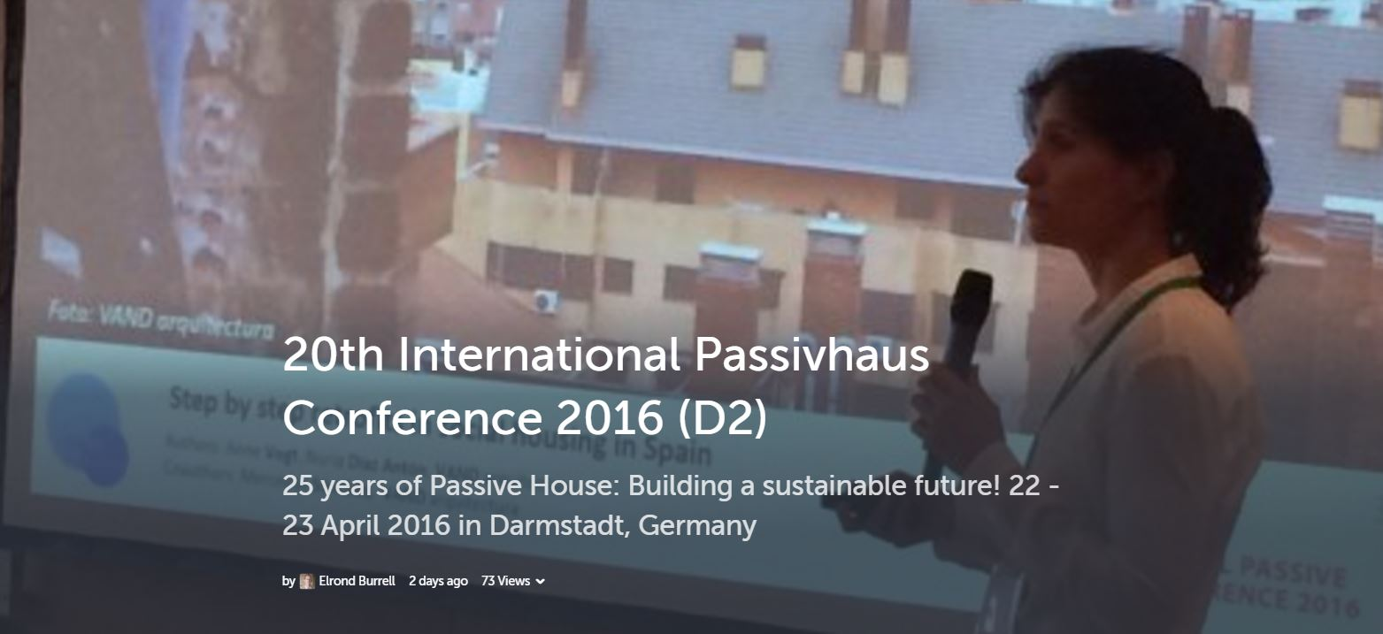International Passivhaus Conference 2016 tweets