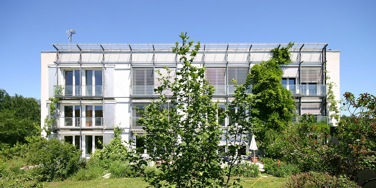 First experimental Passivhaus in the Kranichstein district of Darmstadt