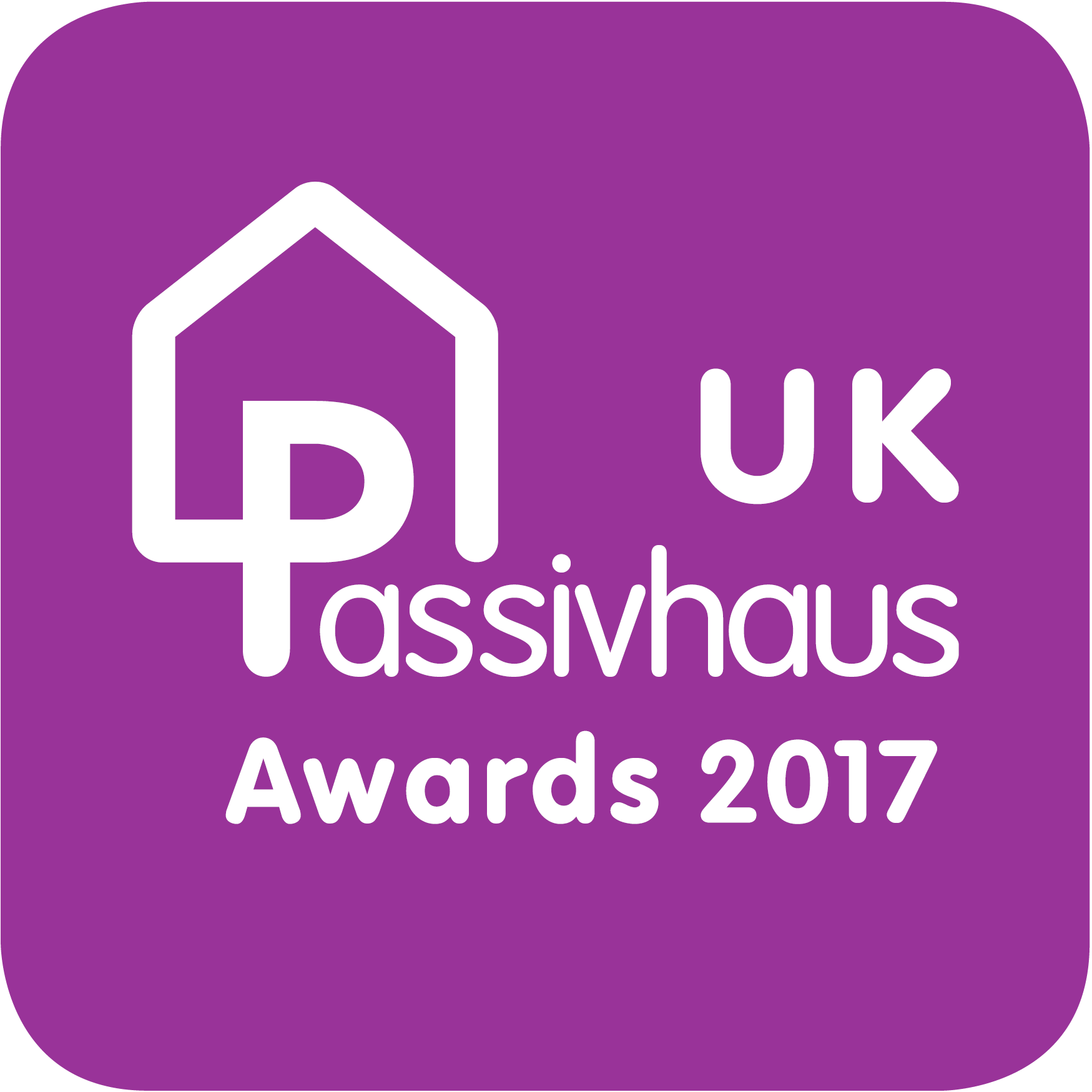 UK Passivhaus Awards 2016 logo