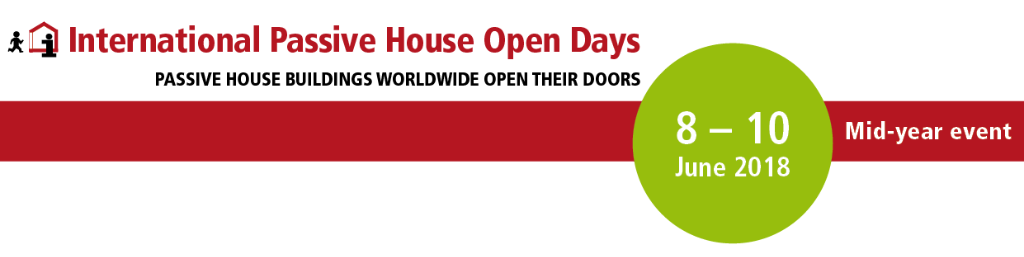 International Passive House Open Days banner