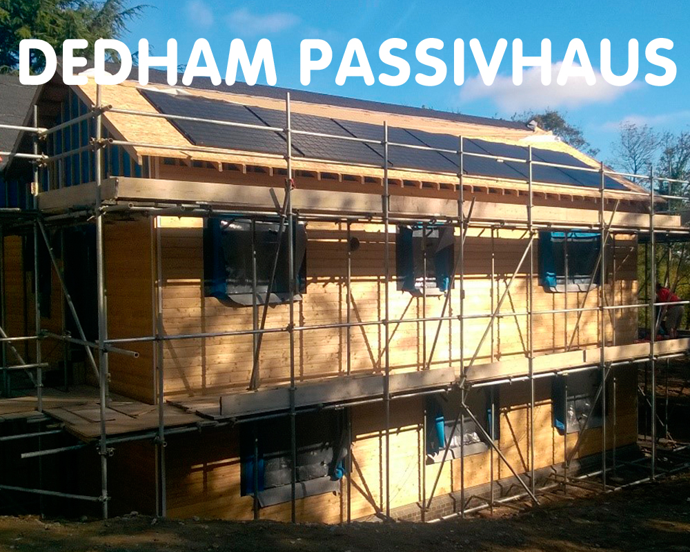 Dedham Passivhaus, aiming for certification. Dedham, Essex C07 6DL