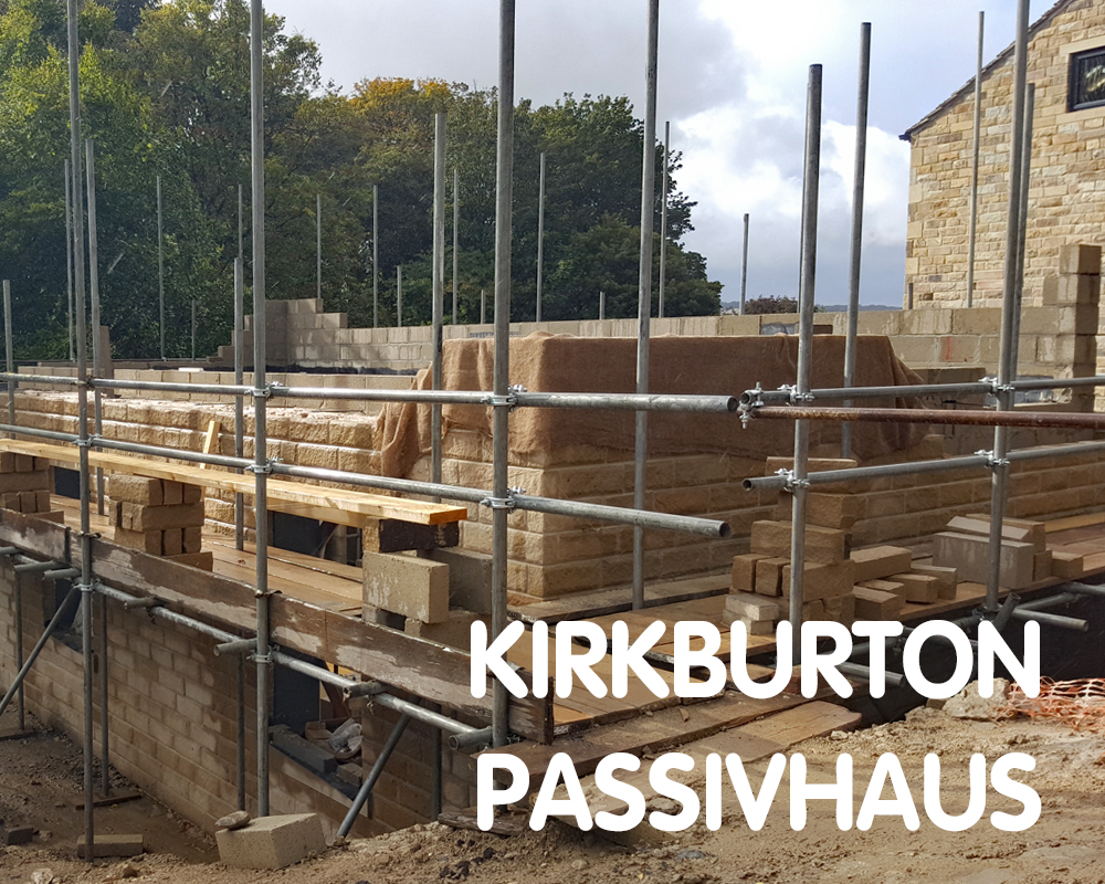 Kirkburton Passivhaus, aiming for certification, Huddersfield HD8