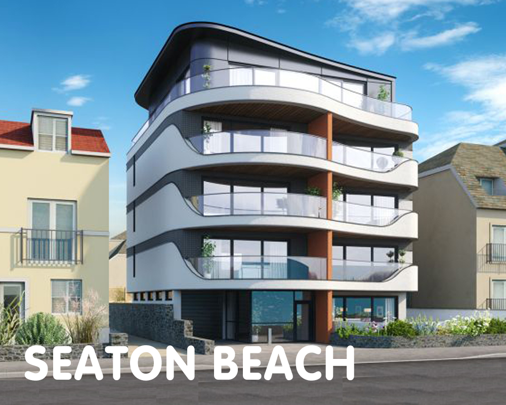 Seaton Beach, aiming for Passivhaus, Devon, EX12 2NP