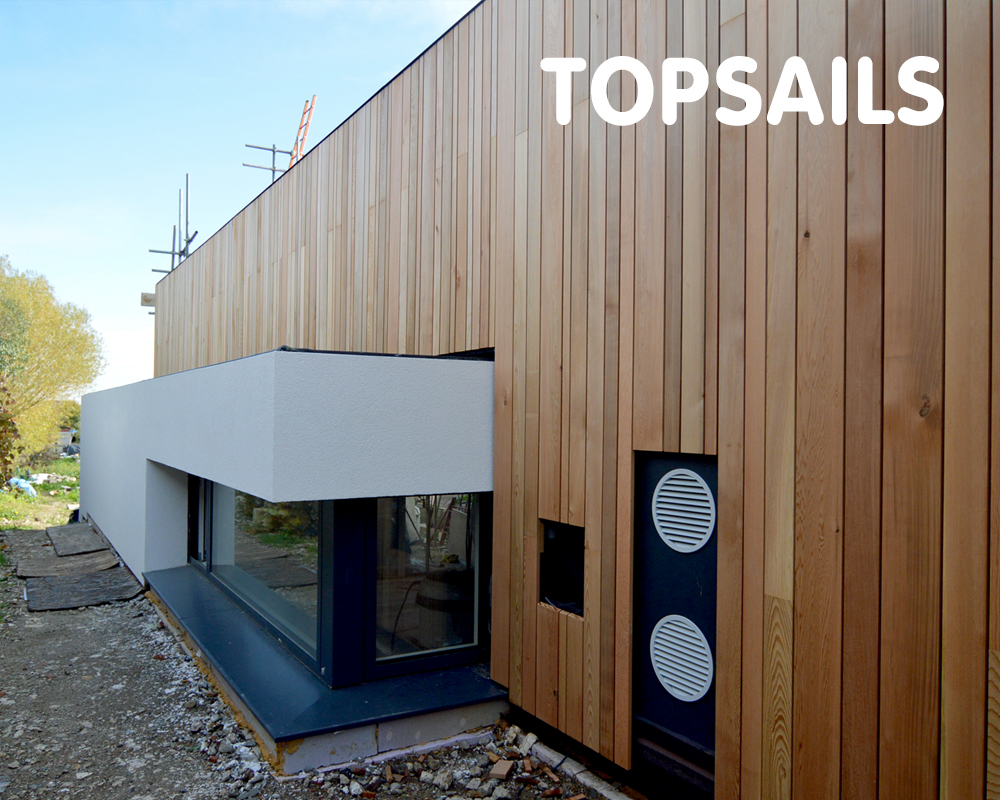 Topsails, aiming for Passivhaus, Whitstable, CT5 1PW
