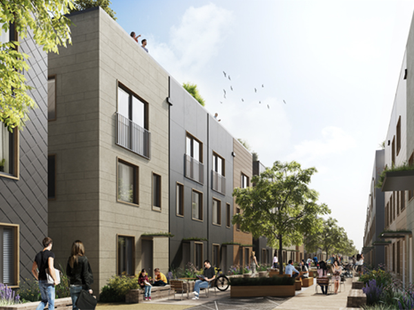Large-scale zero carbon housing: Leeds Climate Innovation District case study