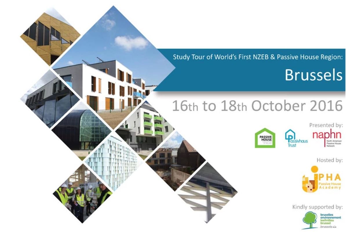 Brussels Passivhaus study tour: October 2016