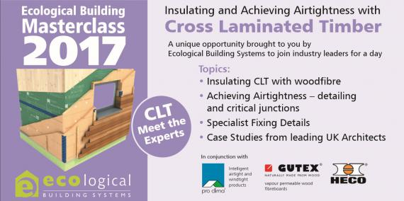 Ecological Building Systems: CLT Masterclass