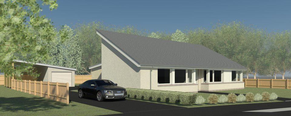 Passivhaus bungalow  Passivhaus News