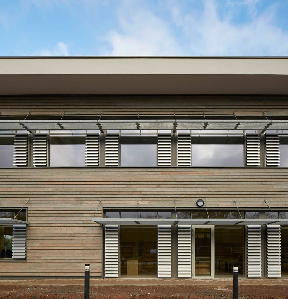 Hereford Archive Centre, exterior, Architype