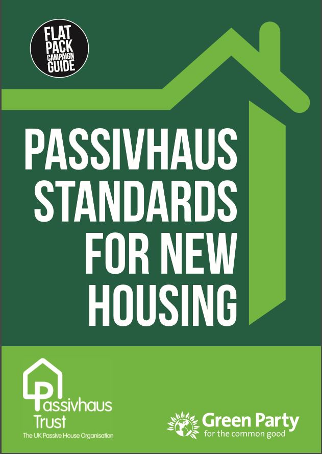 Green Party Passivhaus flat pack for new housing