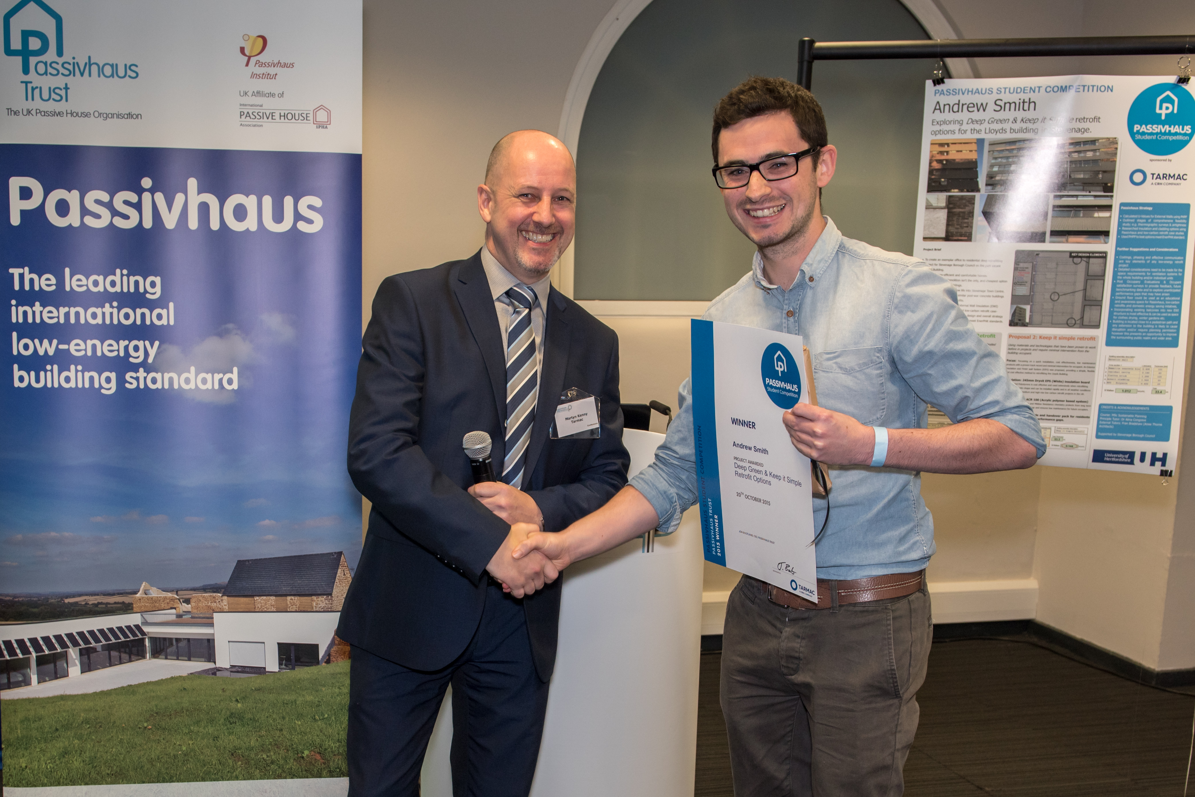 Andrew Smith: Passivhaus Student Competition 2015