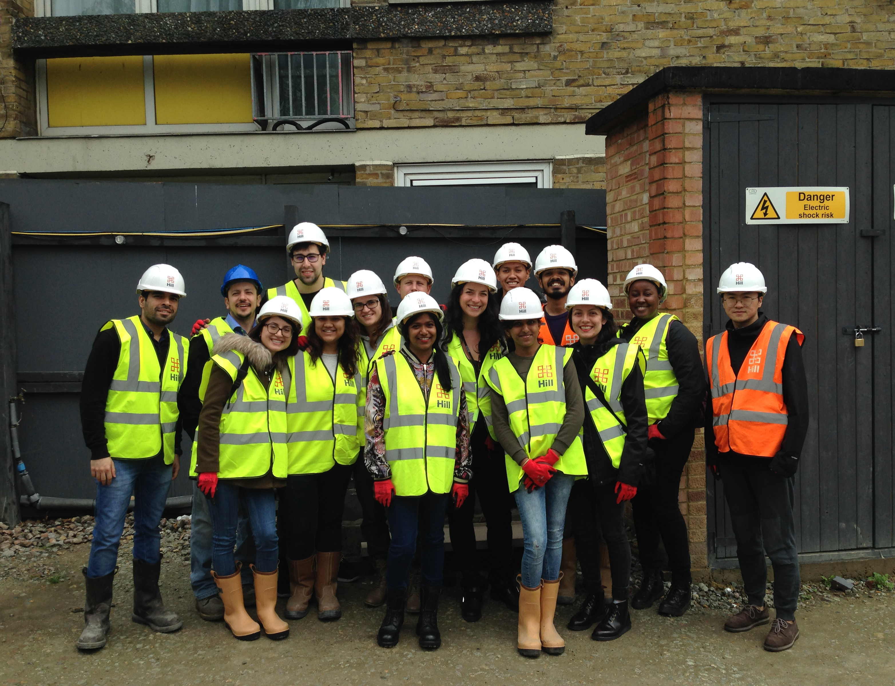 Agar Grove_May 2017_Passivhaus Student Competition site visit