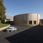 Burry Port School pioneers Brettstapel and aims for Passivhaus