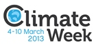 Trust to support Climate Week - 4th to 10th March 2013