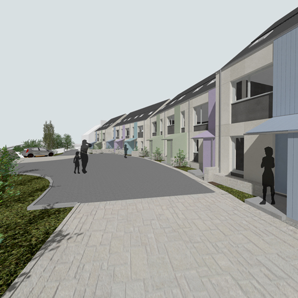 Green light for custom-build Passivhaus at Hunshelf Park