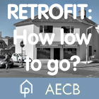 Retrofit: How low to go? The jury says