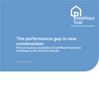 Post occupancy evaluation of certified Passivhaus homes in the UK