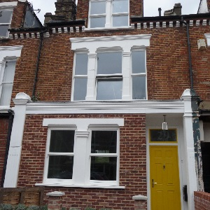 Wandsworth terraced house retrofitted to EnerPHit standard