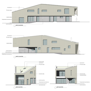 Passivhaus precedent aims for sheds of joy