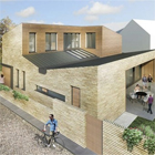Progress of Potton's self build Passivhaus show home recorded in weekly diary
