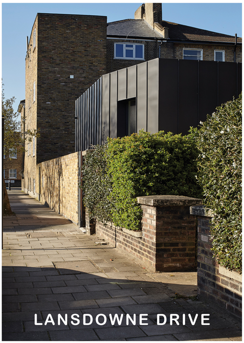 Lansdowne Drive, Tectonics Architects, UK Passivhaus Awards 2016 - Urban category