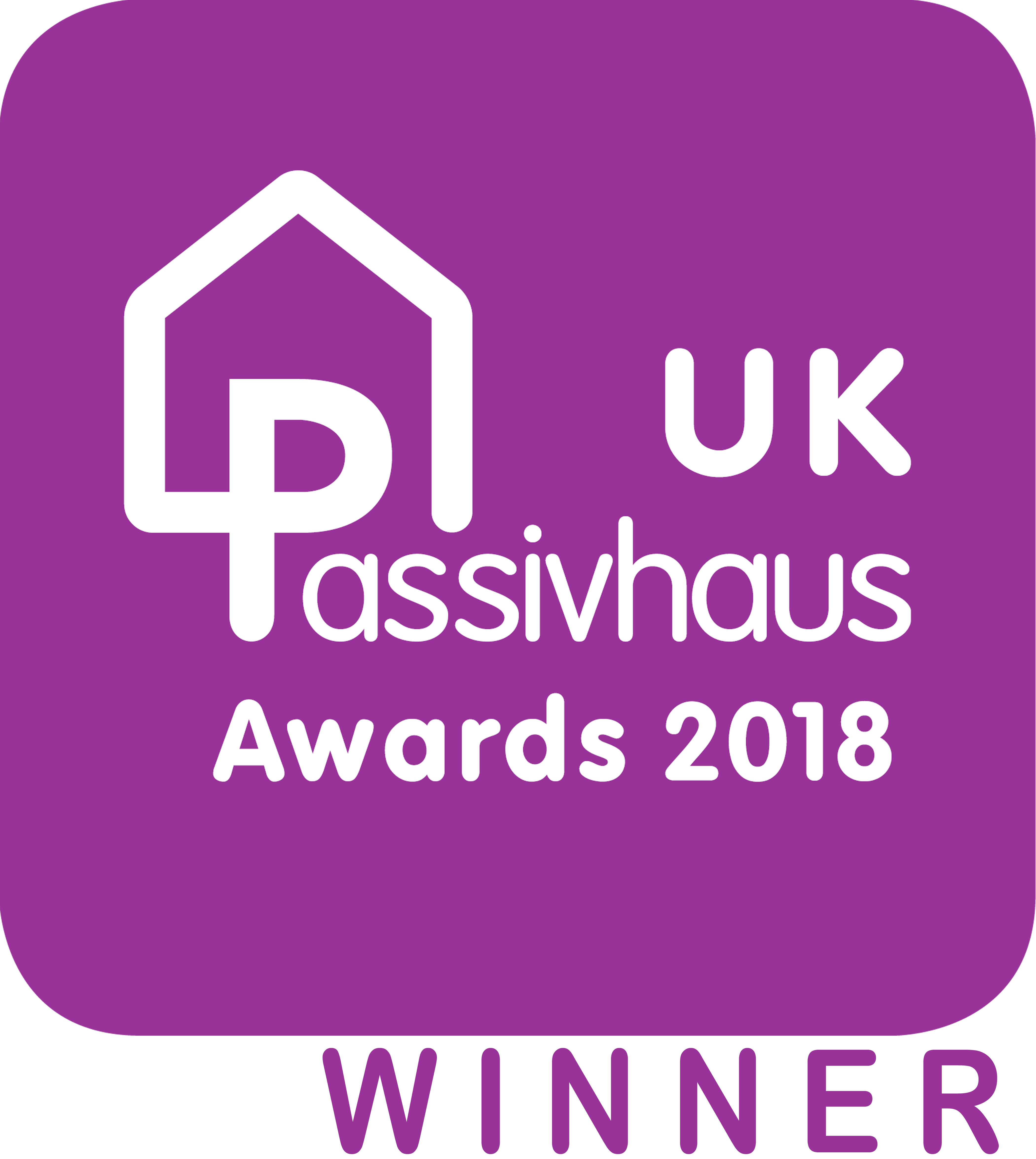 2018 UK Passivhaus Awards people's choice WINNER