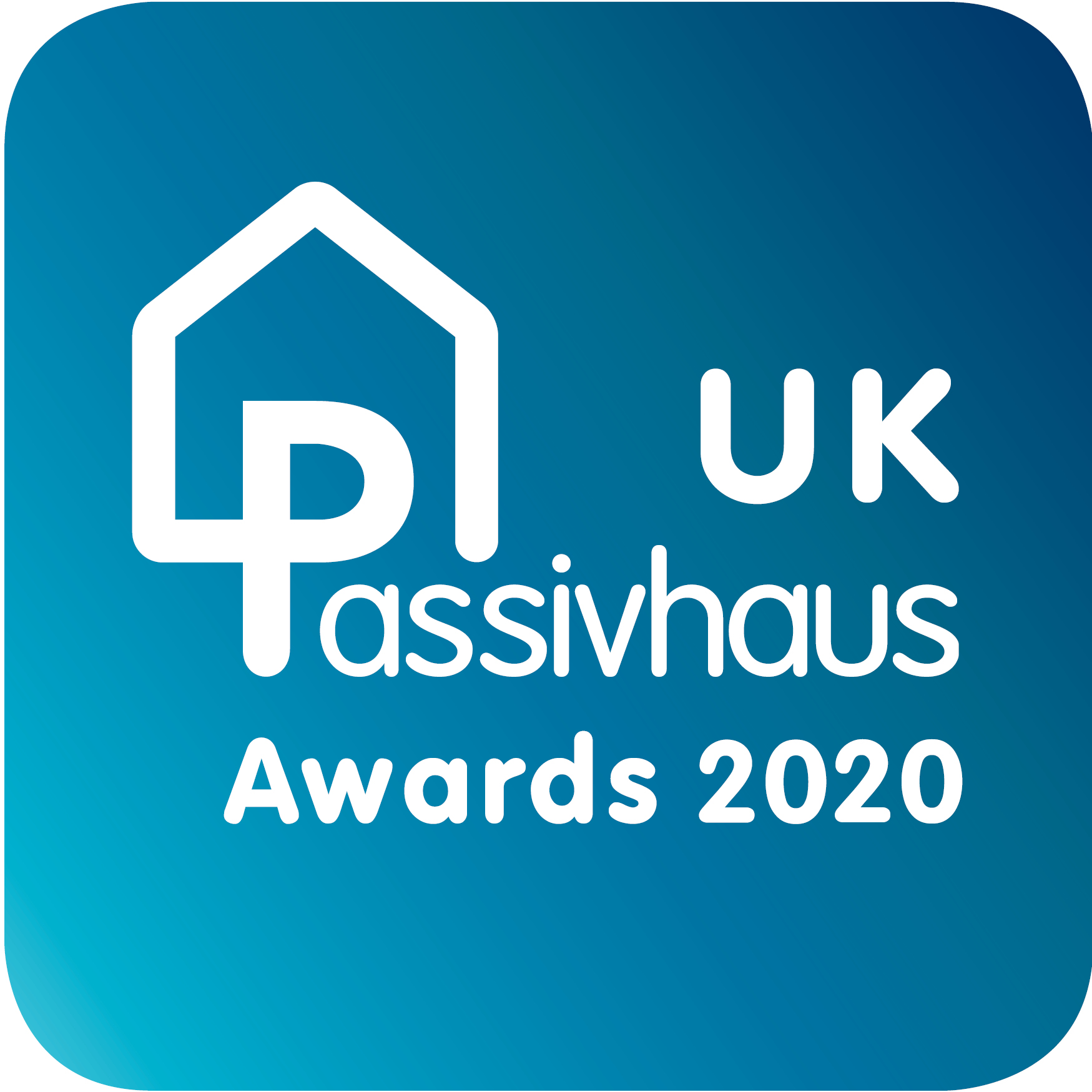 UK Passivhaus Awards 2020 logo