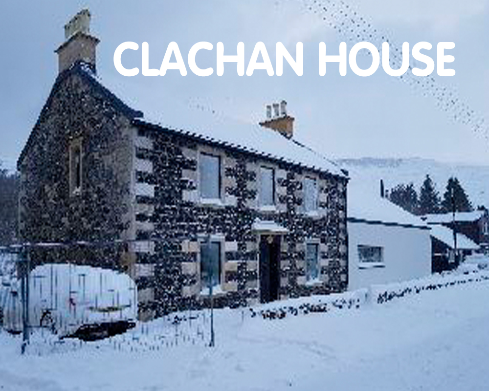 Clachan House, aiming for certification. Glasgow, G63 0XG