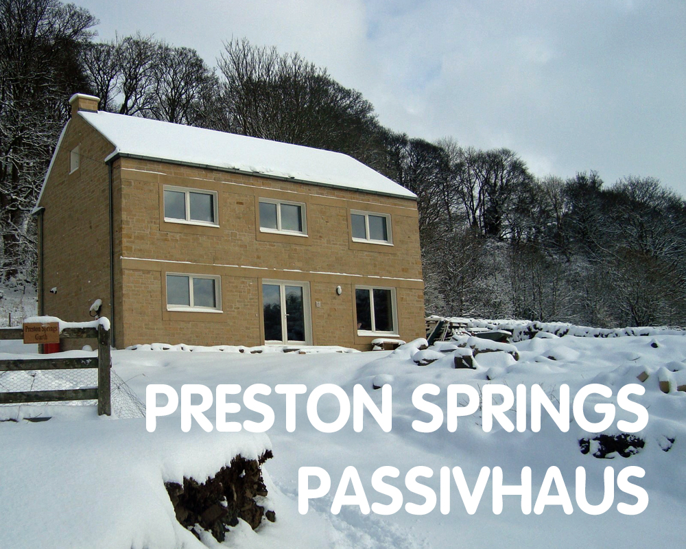 Preston Springs Passivhaus, Preston-under-scar, DL8 4AJ