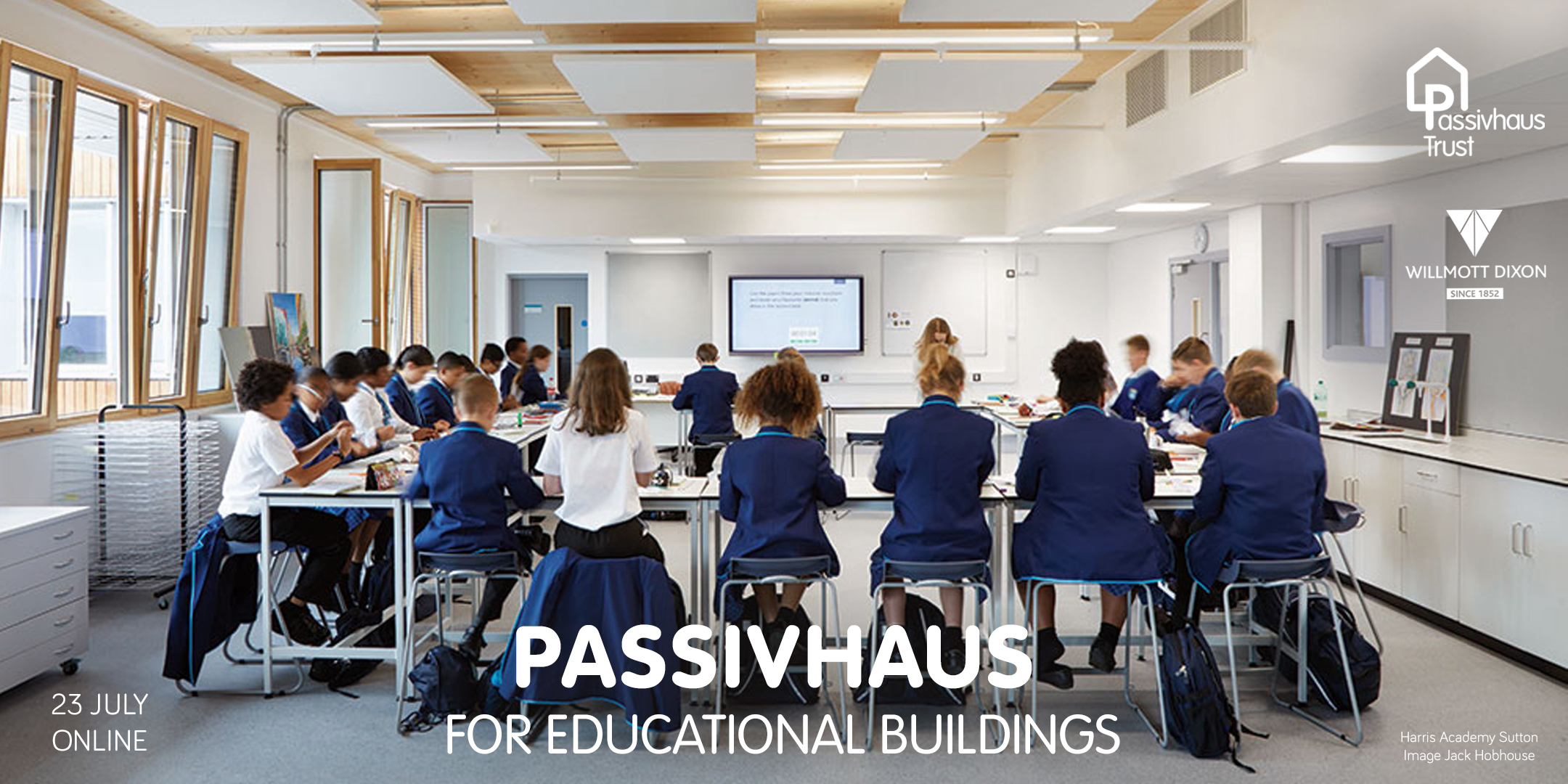 Passivhaus for educational buildings, official launch - 23 July