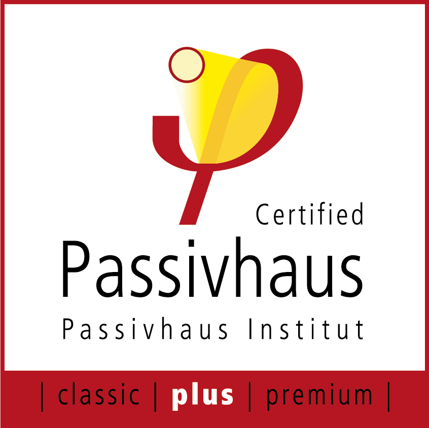 Passivhaus Plus certified logo
