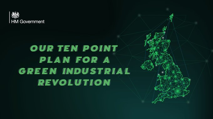 10-point plan to a Green Industrial Revolution