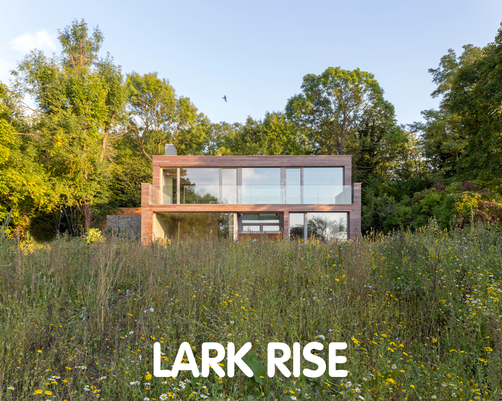 Lark Rise Certified Passivhaus Plus, Buckinghamshire. ©Bere Architects