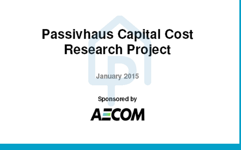 Passivhaus Capital Costs Research Project